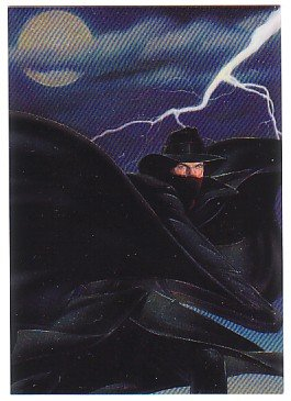The Shadow Movie Trading Card Foil Engraved Chase Card S2