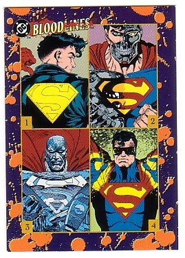 Superman : Bloodlines Promo Trading Card