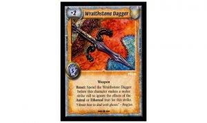 Warlord CCG Call To Arms - Wraithstone Dagger - Michael Kaluta