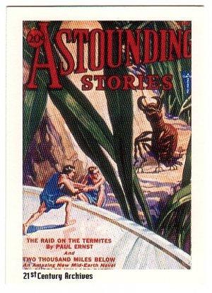 Classic Sci-Fi Art Astounding Science Fiction Card #12