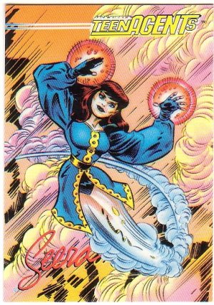 Jack Kirby Teen Agent Promo Card #1 Seera - NEW