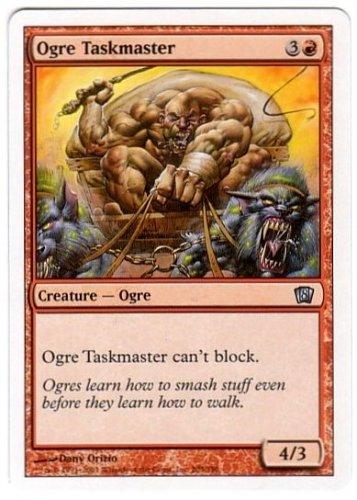 Magic The Gathering MTG Ogre TaskMaster 8th Edition