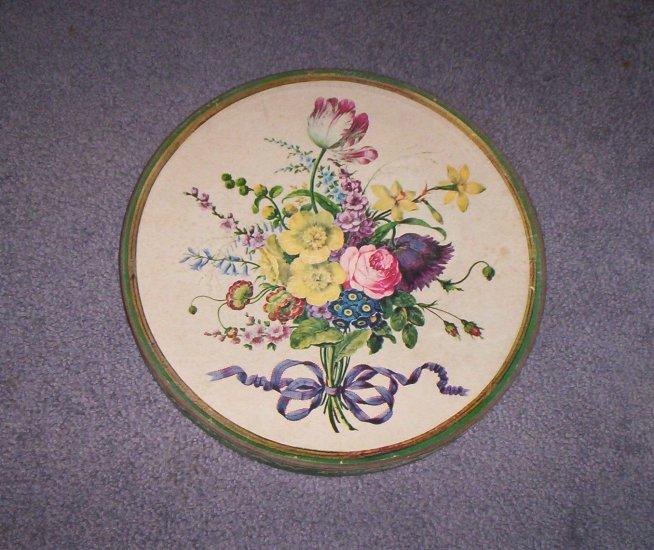 "Springbok Puzzle ""Bouquet of Flowersl"" 1965 Round"
