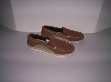 SPERRY Top-Sider Kids Billfish Sport Boat Shoes Brown Boys Size 5M New!