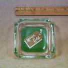 Manger Hotels Glass Ashtray Vintage  3.75 inch square