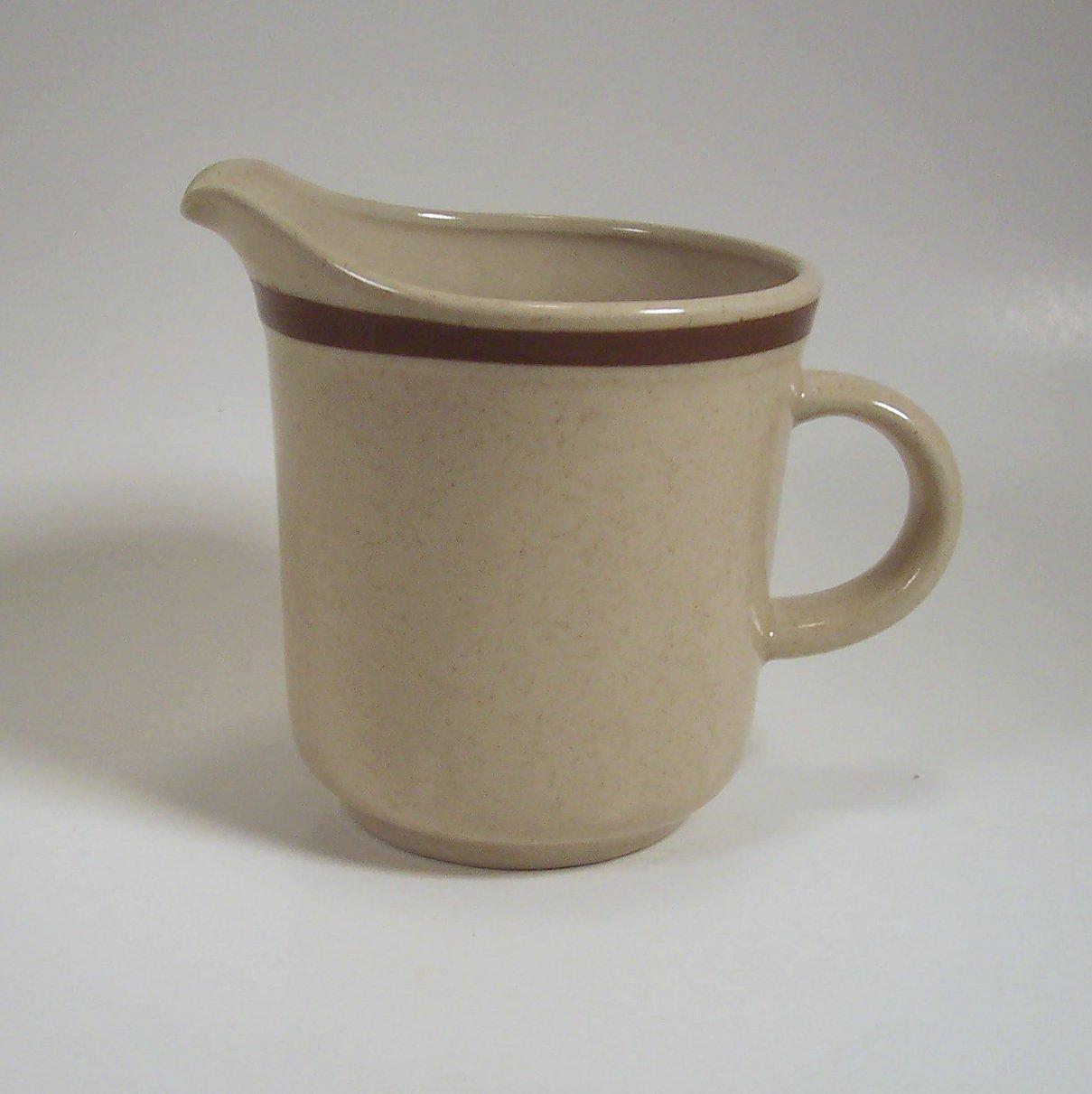 Yamaka Stoneware Cream Pitcher Made in Japan