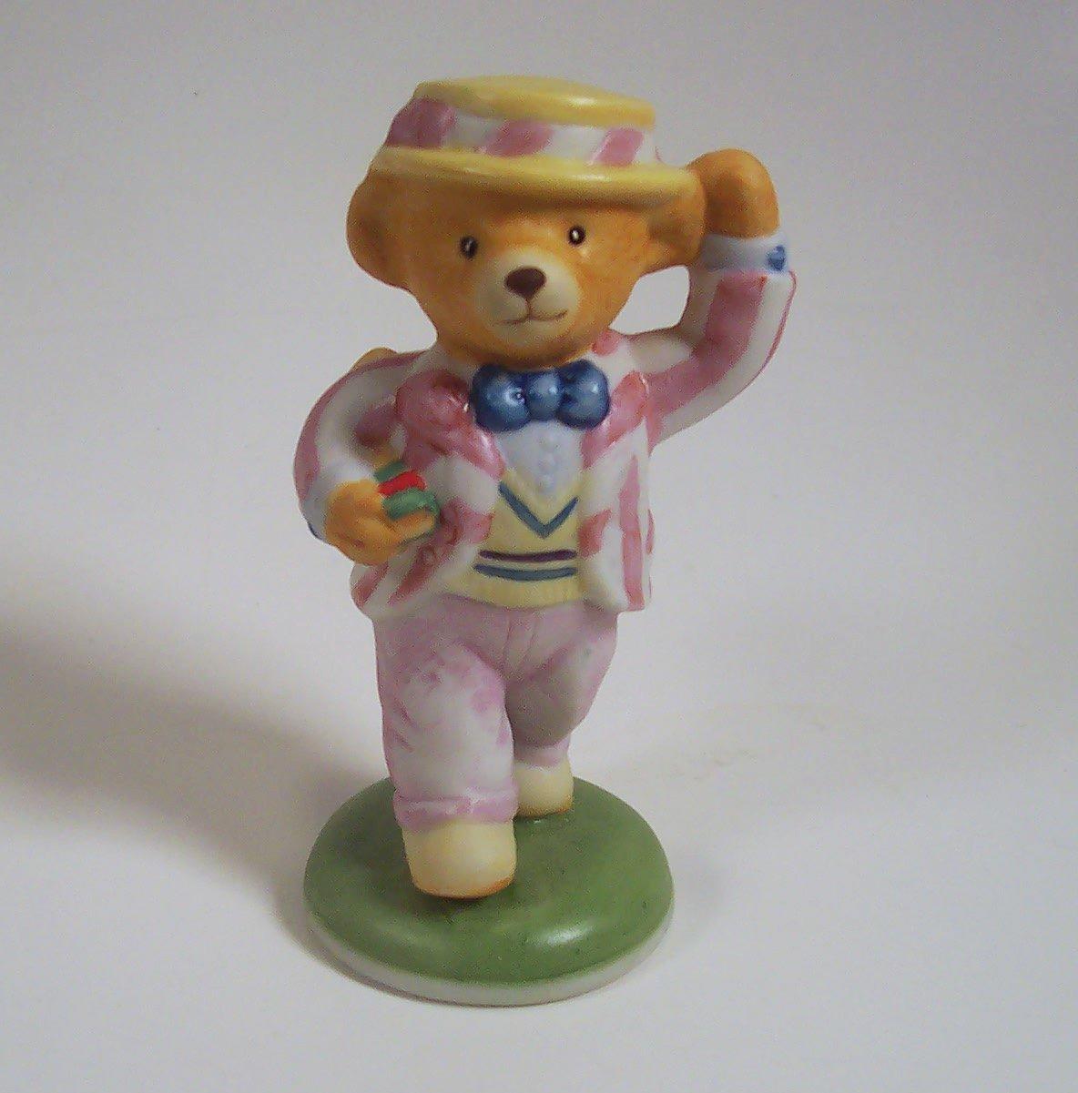 Lord Margate Teddington Hotel 1986 Franklin Mint Porcelain Figurine