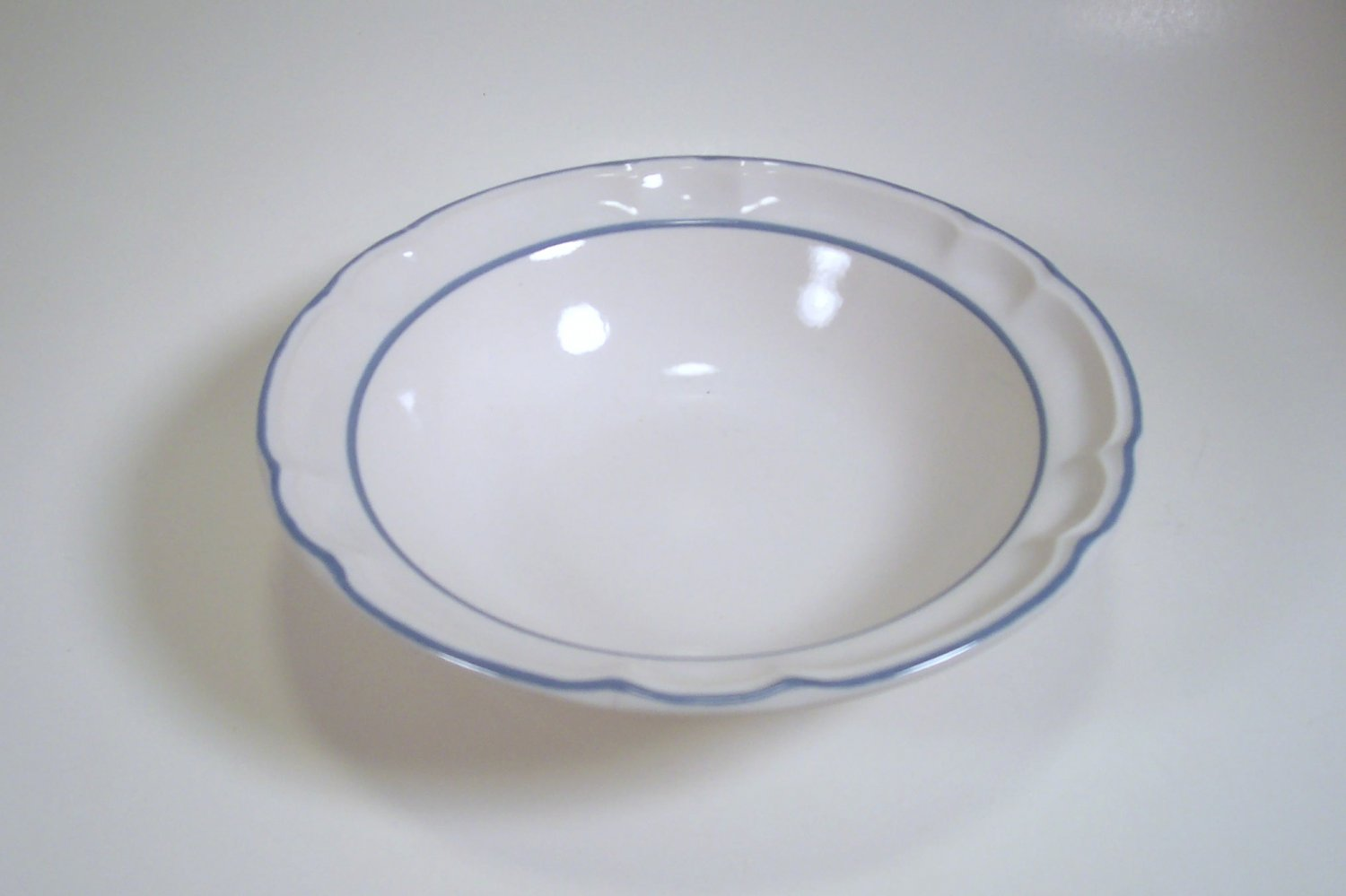 Hearthside Floral Expressions Rimmed Cereal Bowl Made in Mexico