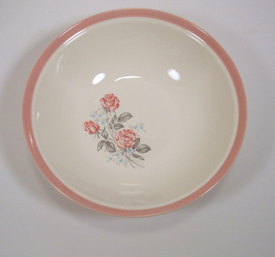 Cunningham & Pickett Vintage serving bowl Dixie Rose pattern Homer ...