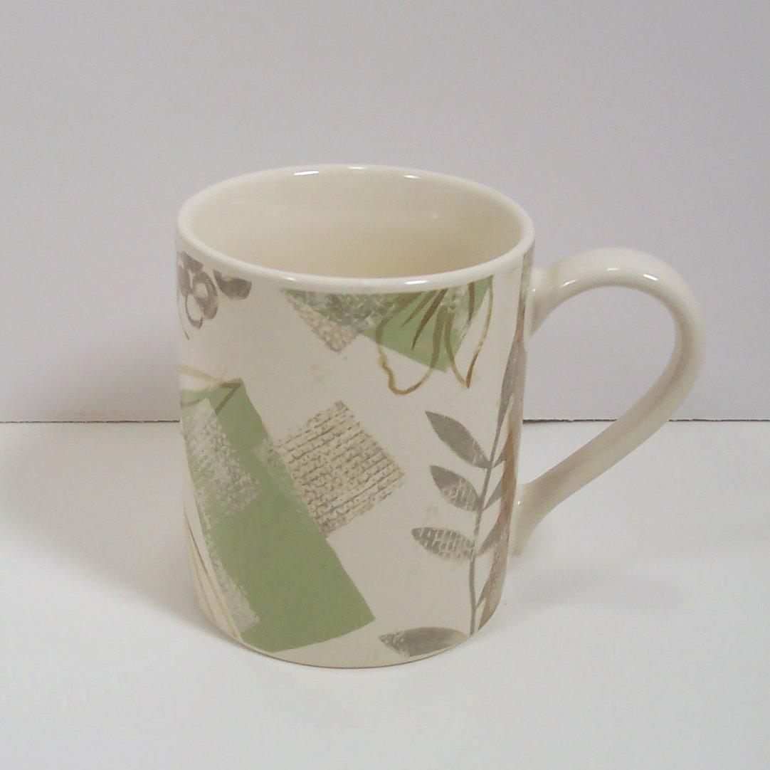 Corelle Textured Leaves Mug 3 7/8\