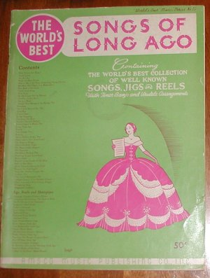 The World's Best Songs of Long Ago [Paperback] by AMSCO