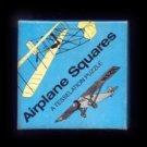 Vintage Airplane Squares Brain Puzzle in Box