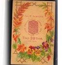 1870s Cream Java Coffee Trade Card