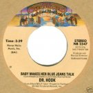 """Dr. Hook """"Baby Makes Her Blue Jeans Talk"""" 45 Record"""