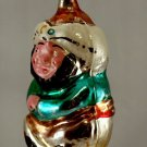 1930s Glass Genie Christmas Ornament