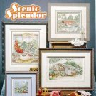 Scenic Splendor 'Gazebo Covered Bridges' Cross Stitch Leaflet
