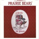 """Prairie Bears"" (Teddy) 12 Cross Stitch Designs Booklet"