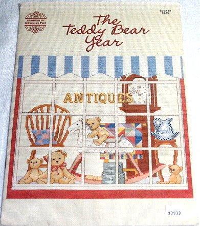 Gloria & Pat 'The Teddy Bear Year' Cross Stitch Booklet