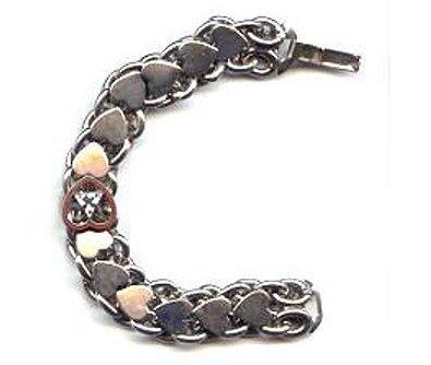Vintage Moose Lodge F. H. C. Silvertone Bracelet