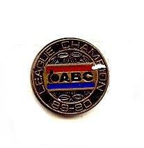 1989-1990 ABC Bowling League Champion Pin