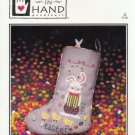 """Juggling Jelly Beans"" Easter Stocking Cross Stitch Pattern"