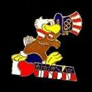 1984 'Sam' the Eagle 1984 LA Olympics Pinback