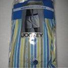 JOCKEY 2 Pk stripe seamless waistband boxer briefs XL