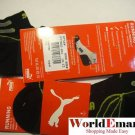 PUMA socks 2 Pairs low cut men black RUNNING 10-13 NWT