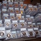 24 CERTIFIED COINS~MINIMUM GRADE MS65 OR PR65