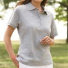 Jerzees Ladies Polo with SpotShield
