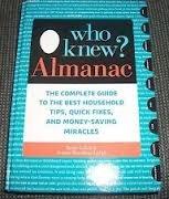WHO KNEW? ALMANAC by Jeanne Bossolina-Lubin & Bruce Lubin