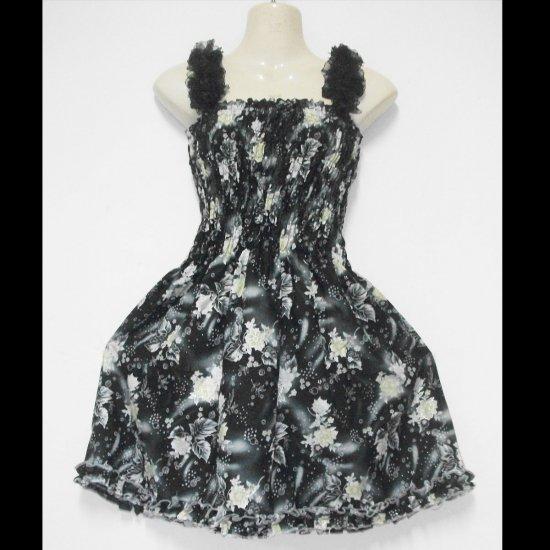 Sexy Black  Maxi Hippie Gypsy Boho Summer Cocktail short Dress S-L