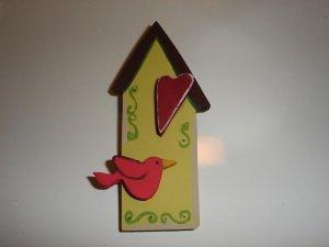 Bird House Pin