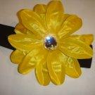 Yellow flower with Headband