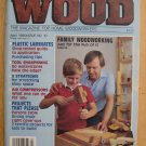 "Vintage Better Homes and Gardens ""Wood"" 4/1986"