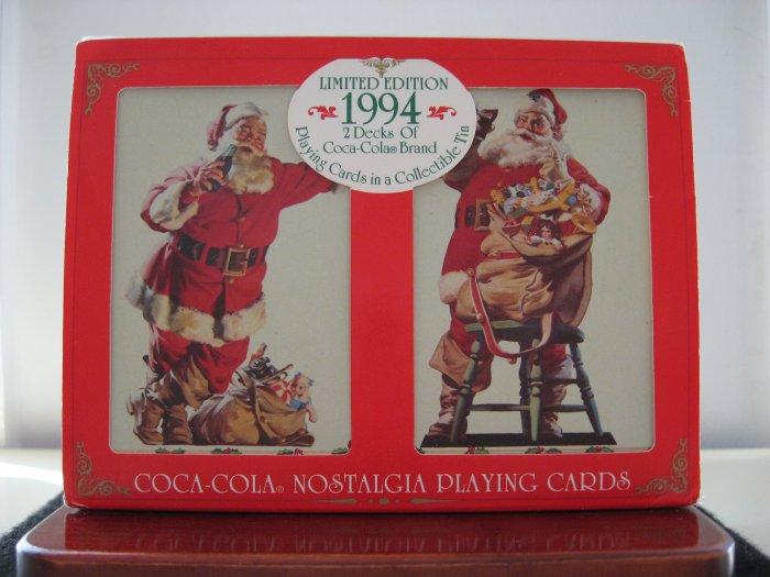 1994 Coca-Cola Nostalgia Playing Cards