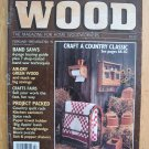 "Vintage Better Homes and Gardens ""Wood"" 2/1987"