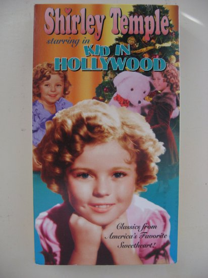 "Shirley Temple ""Kid In Hollywood"" (VHS)"