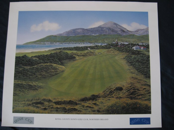 Royal County Down Golf Course - Print