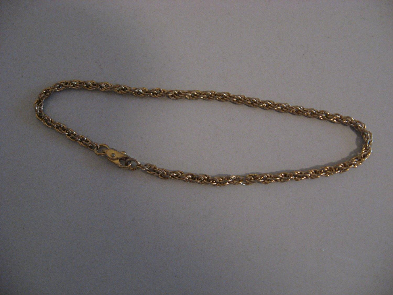 Gold Tone Bracelet Chain