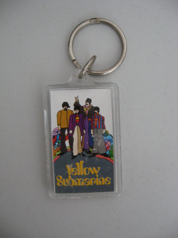 Beatles Yellow Submarine Keycahin