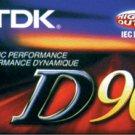 TDK - D90 Cassette Tapes