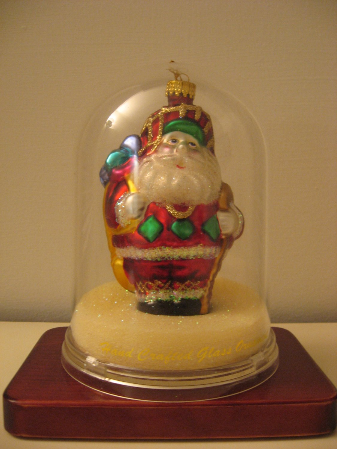 Santa Claus - Hand Crafted Glass