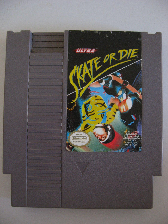 Skate Or Die - Game Cartridge