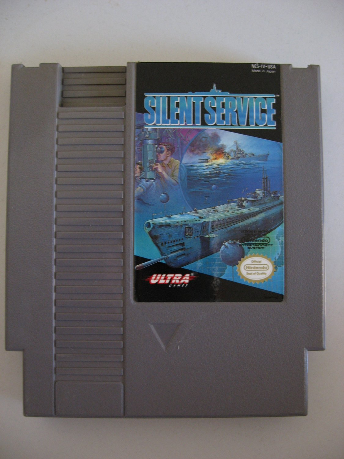 Silent Service  -  Game Cartridge