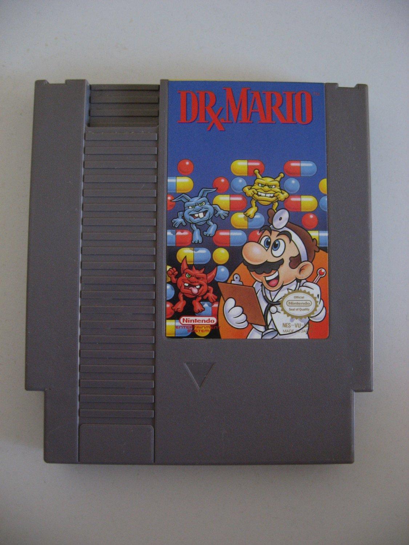 Dr. Mario  -  Game Cartridge