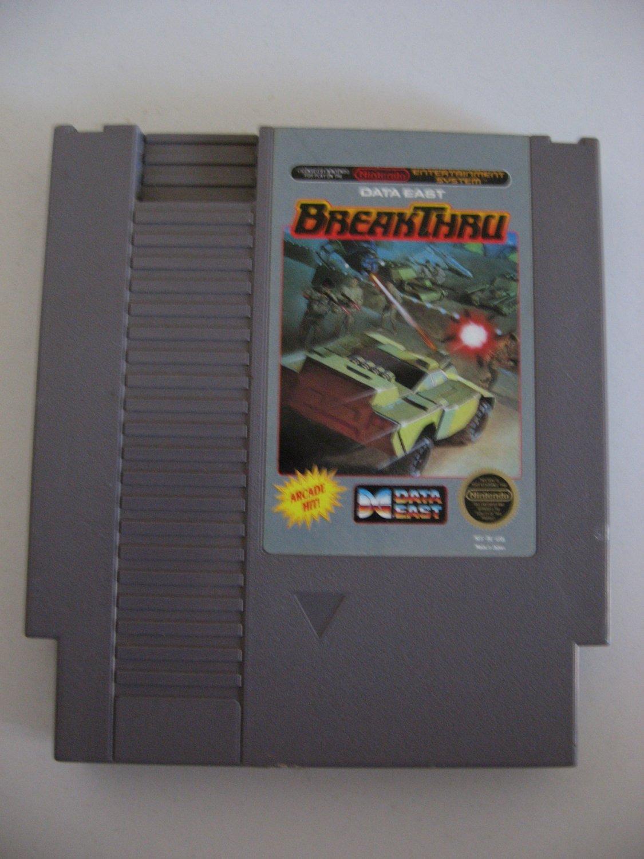 Breakthru  -  Game Cartridge
