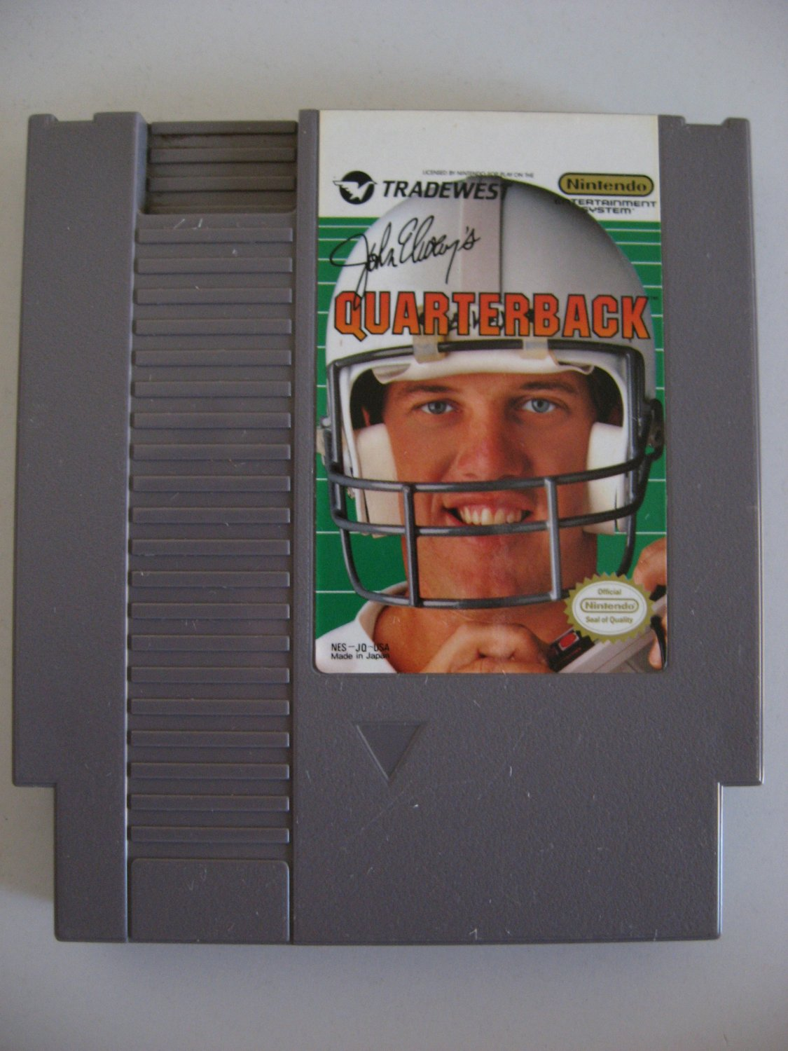John Elway Quarterback  -  Game Cartridge