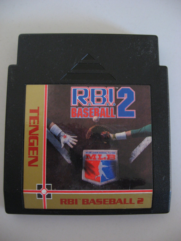 RBI Baseball 2  -  Game Cartrdige