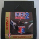 RBI Baseball 2  -  Game Cartrdige